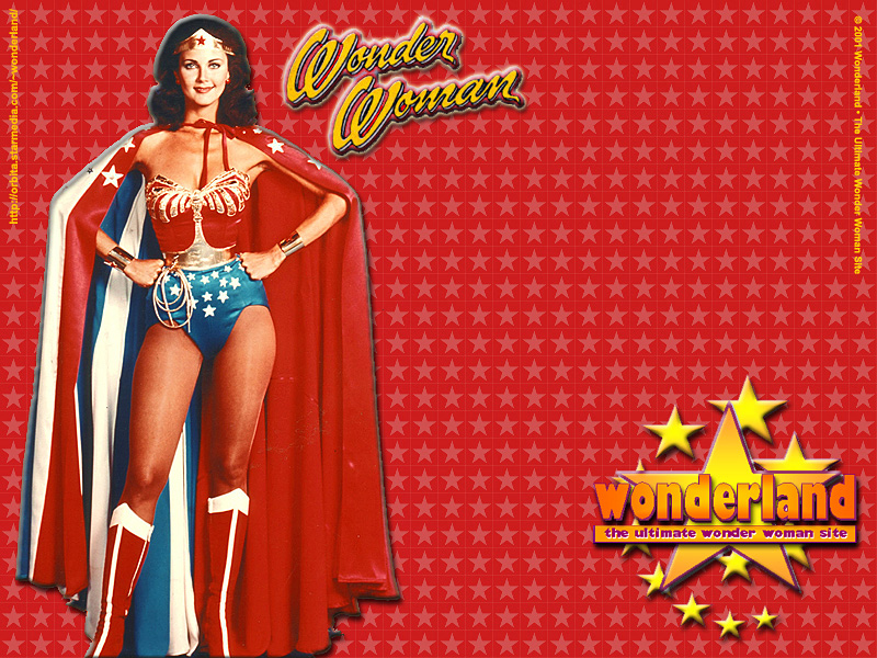© 2001 by Wonderland • The Ultimate Wonder Woman Site. Original Photo © 1977 by Tony Esparza / CBS-TV / Warner Bros. TV.